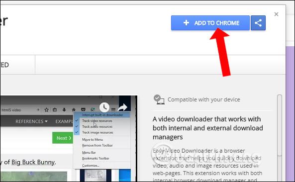 Cách tải video, âm thanh, hình ảnh trên Chrome - Quantrimang com