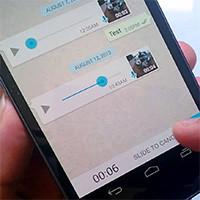 Cách gửi tin nhắn bằng giọng nói trong WhatsApp trên iPhone