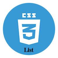 Danh sách trong CSS
