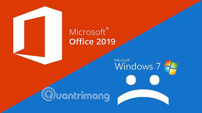 Office không hỗ trợ Windows cũ