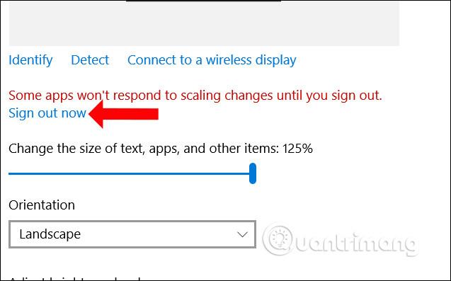 Thoát tài khoản Windows