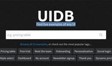 Tìm cảm hứng thiết kế giao diện người dùng với UIDB