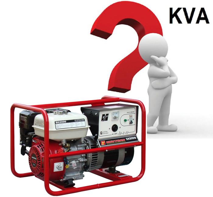 Công suất hoạt động của máy phát điện