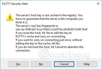 Cảnh báo bảo mật