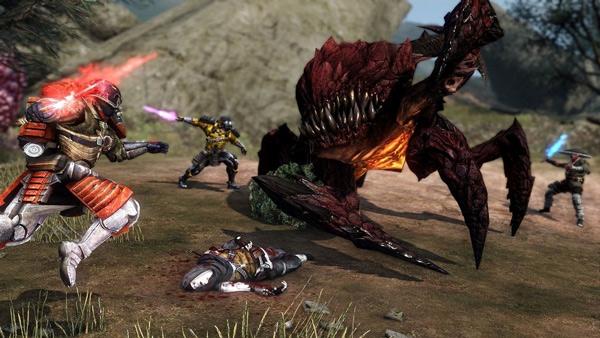 Các trận đấu súng trong Defiance 2050 với vô số các hiệu ứng bắt mắt
