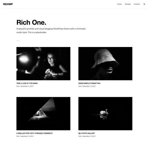 3 theme WordPress tuyệt vời để xây dựng portfolio