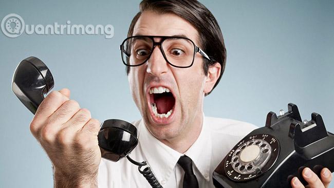 Các cuộc gọi không mong muốn