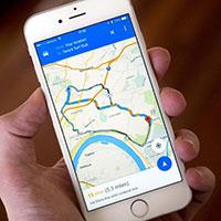 Cách xem Google Maps ngay trên màn hình khóa iPhone