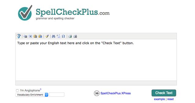 Công cụ SpellCheckPlus