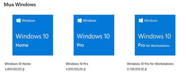 Mua Windows bản quyền trực tiếp từ Microsoft