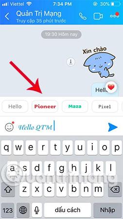 Trên màn hình điện thoại iPhone sẽ hiển thị các biểu tượng font chữ