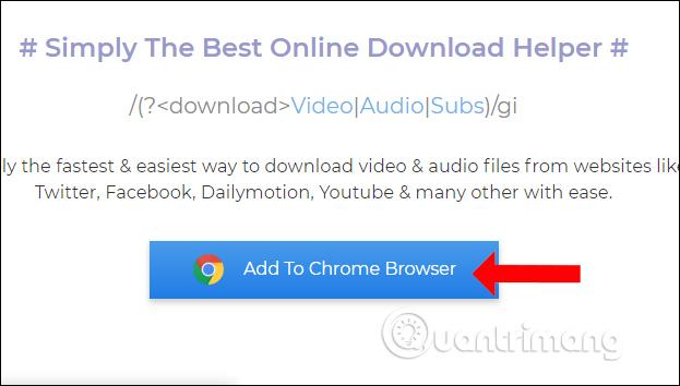 Tiện ích trên Chrome