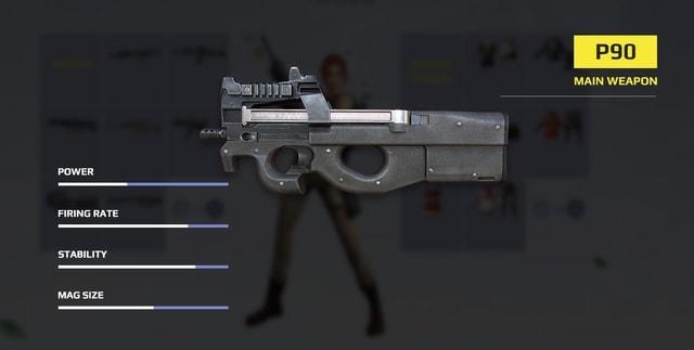P90.  Súng