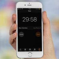 Cách tự động tắt nhạc, khóa màn hình trên iPhone