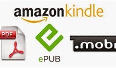 Ưu và nhược điểm của các định dạng eBook phổ biến: EPUB, MOBI, AZW, IBA,…