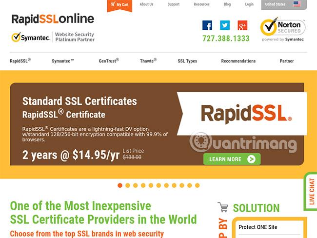 RapidSSLonline