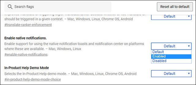 Cách bật Windows 10 Notification trên Google Chrome