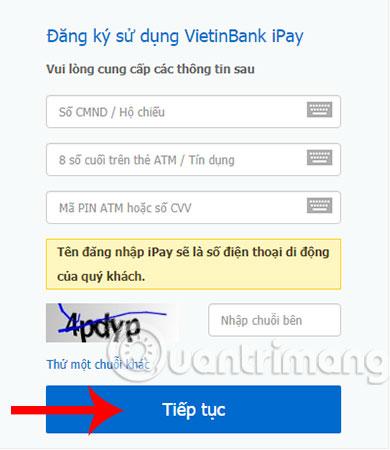 VietinBank iPay: Hướng dẫn đăng ký Internet Banking VietinBank trên điện thoại