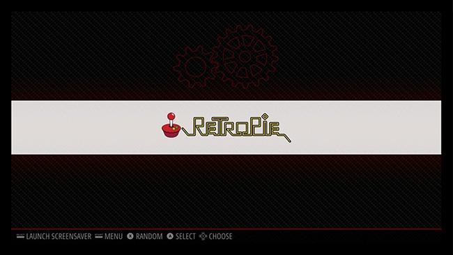 Mở trang cấu hình Retro Pie