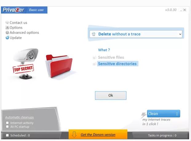 Phần mềm PrivaZer