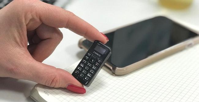 Zanco Tiny T1 là chiếc điện thoại nhỏ nhất thế giới