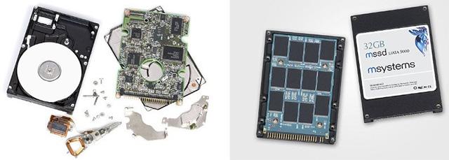 Ổ đĩa cứng (HDD) và ổ đĩa thể rắn (SSD)