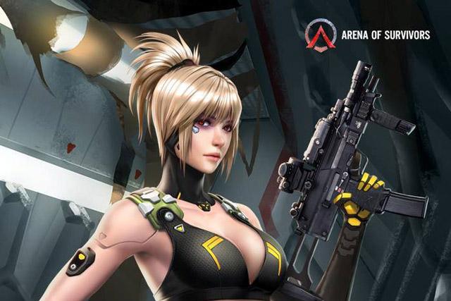 Một cuộc đua trong Arena Of Survivors giới hạn chỉ 20 người chơi