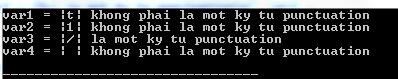 Hàm ispunct() trong C