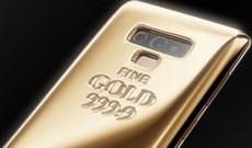 Galaxy Note 9 phiên bản đặc biệt, dát 1KG vàng nguyên chất, giá 1.4 tỉ