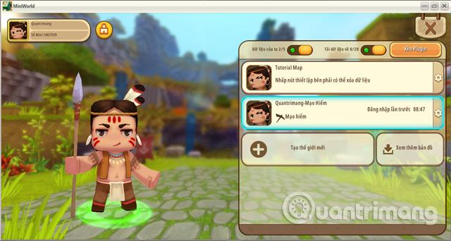 Nội dung của trò chơi