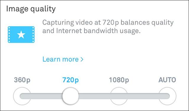 Camera Wi-Fi: Giao diện dễ sử dụng hơn