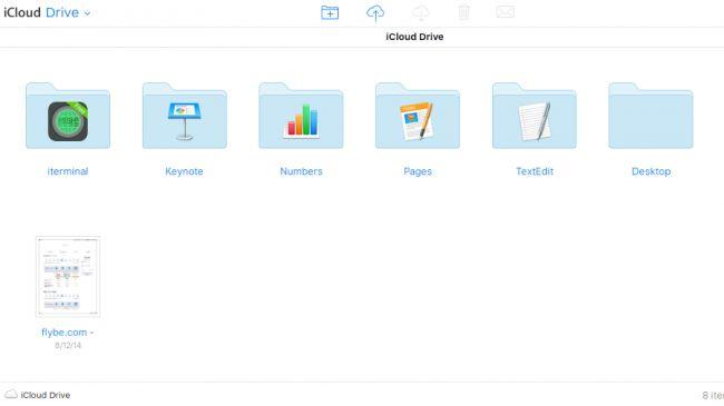 Dịch vụ lưu trữ iCloud