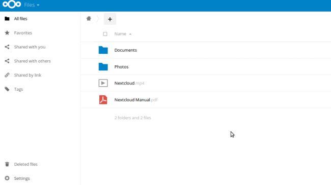 Dịch vụ lưu trữ NextCloud