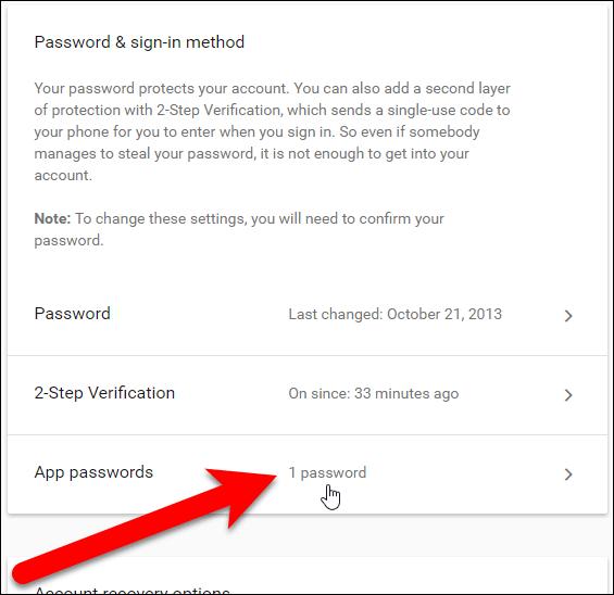 Số mật khẩu vừa tạo