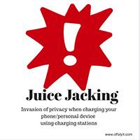 Juice Jacking là gì? Vì sao không nên sạc điện thoại ở nơi công cộng?