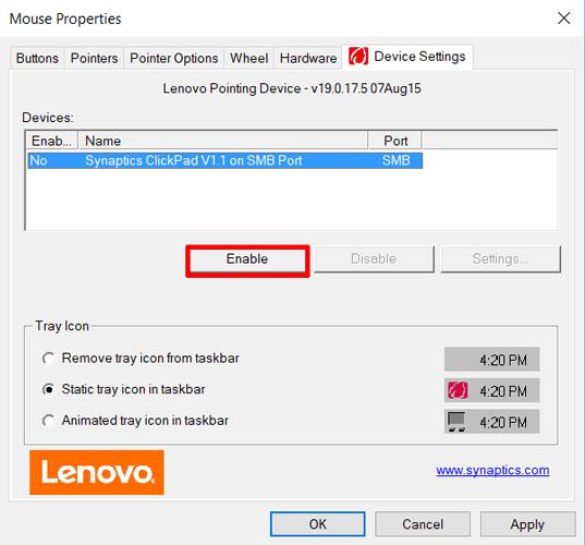 Cách sửa lỗi Touchpad trên Windows 10 không hoạt động - Ảnh minh hoạ 6