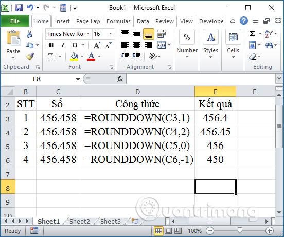 Các cách làm tròn số trên Excel - Ảnh minh hoạ 2