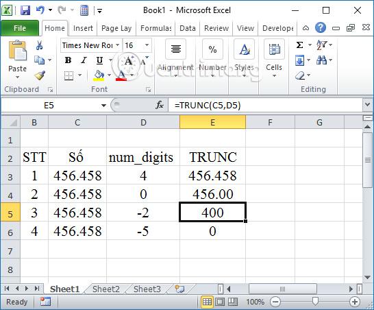 Các cách làm tròn số trên Excel - Ảnh minh hoạ 7