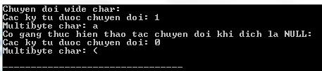 Biên dịch và chạy chương trình C để xem kết quả
