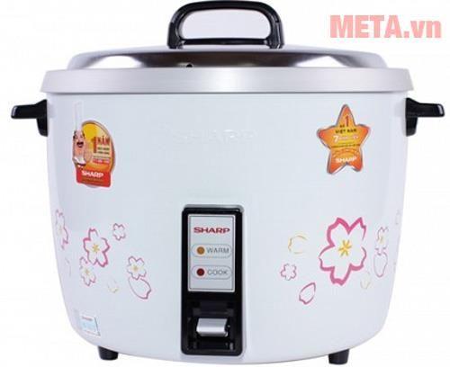Nồi cơm điện Sharp 3.8 lít KSH-740 V (D40V) có giá 1.130.000 đồng, phù hợp nấu cơm cho 6 - 10 người.