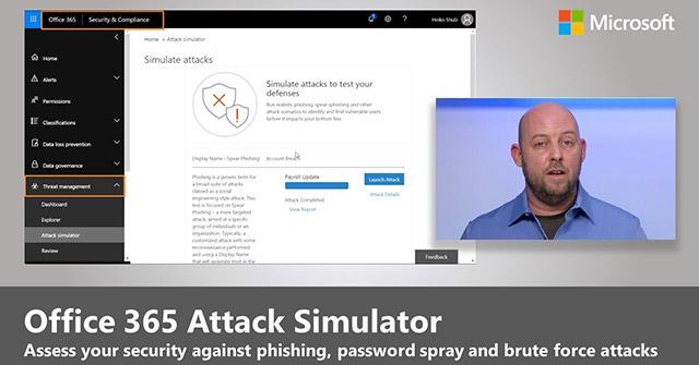 Office 365 Attack Simulator là gì? Sử dụng nó như thế nào?