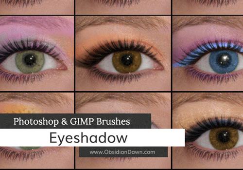 Brush tạo màu mắt cho Photoshop và GIMP