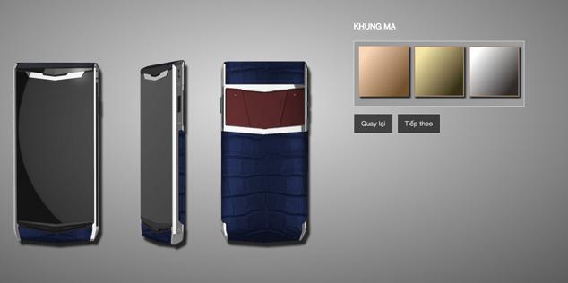 Vipphone có khá nhiều màu sắc để người dùng lựa chọn