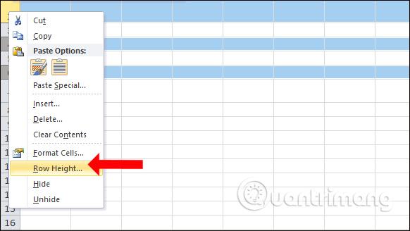 Các cách giãn dòng trong Excel - Ảnh minh hoạ 3