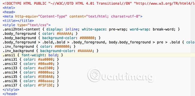 Cách thêm terminal code được mã hóa màu vào Microsoft Word - Ảnh minh hoạ 4