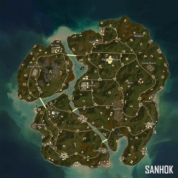 Bản đồ Sanhok