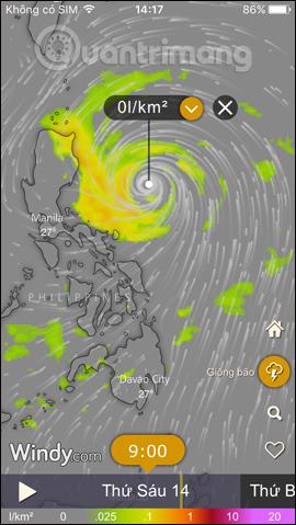 Thông tin bão