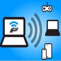 Cấu hình laptop thành điểm phát Wi-Fi
