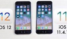 Đọ tốc độ và thời lượng pin của iOS 12 chính thức với iOS 11.4.1 trên iPhone 5S, iPhone 6, iPhone 6S và iPhone 7, có nên cập nhật không?