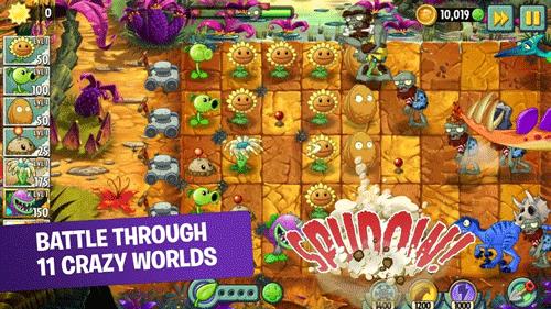 Trò chơi Plants vs. Zombies 2